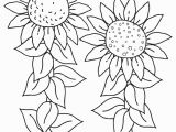 Printable Flower Coloring Pages for Kids Free Printable Sunflower Coloring Pages for Kids