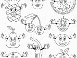 Printable Fruits and Vegetables Coloring Pages Fruits & Ve Ables
