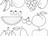 Printable Fruits and Vegetables Coloring Pages Fruits and Ve Ables Coloring Pages at Getcolorings