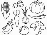 Printable Fruits and Vegetables Coloring Pages Pretty Of Healthy Food Coloring Pages Con Imágenes
