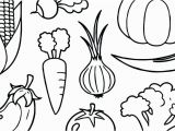 Printable Fruits and Vegetables Coloring Pages Printable Fruits and Ve Ables Coloring Pages at