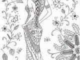 Printable Geisha Coloring Pages Coloring for Adults Kleuren Voor Volwassenen