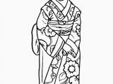 Printable Geisha Coloring Pages Fashion Coloring Pages