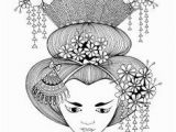 Printable Geisha Coloring Pages the 230 Best ✐asian Coloring Pages Images On Pinterest