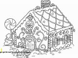 Printable Gingerbread House Coloring Pages 30 Gingerbread House Coloring Pages