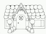 Printable Gingerbread House Coloring Pages Coloringtestforkids Cartoon Coloring Pages Line