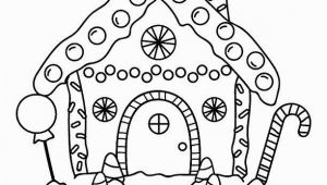 Printable Gingerbread House Coloring Pages Free Printable Gingerbread House Coloring Pages for the