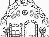Printable Gingerbread House Coloring Pages Gingerbread Drawing at Getdrawings