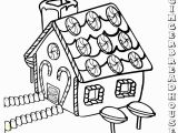 Printable Gingerbread House Coloring Pages Gingerbread House Coloring Pages