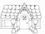 Printable Gingerbread House Coloring Pages Mormon Gingerbread House