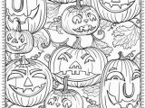 Printable Halloween Adult Coloring Pages Free Printable Halloween Coloring Pages for Adults