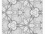Printable Heart Design Coloring Pages Awesome Coloring Page for Adult Od Kids Simple Floral Heart with Ruva