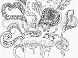 Printable Heart Design Coloring Pages Printable Heart Coloring Pages