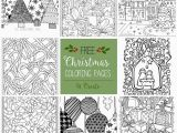 Printable Holiday Coloring Pages Christmas Coloring Pages Printable Printable
