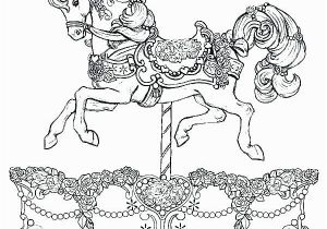 Printable Horse Coloring Pages Printable Horse Coloring Pages New Coloring Carousel Coloring Pages