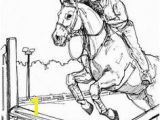 Printable Horse Jumping Coloring Pages 60 Best Color Horses Petition Images