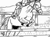 Printable Horse Jumping Coloring Pages Febe De Deguchtf On Pinterest