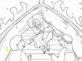 Printable Jesus Coloring Pages Jesus Calms the Storm Mark 4 35 41 Coloring Page
