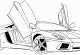 Printable Lamborghini Coloring Pages Car Coloring Pages