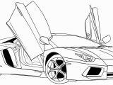 Printable Lamborghini Coloring Pages Car Coloring Pages