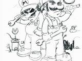 Printable Luigi Coloring Pages 4590 Mario Free Clipart 21