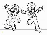 Printable Mario and Luigi Coloring Pages Mario Bros Mario and Luigi Coloring Page Printable