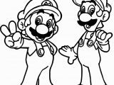 Printable Mario and Luigi Coloring Pages Mario Coloring Pages