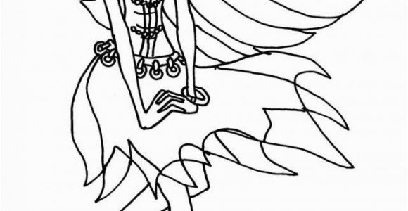 Printable Monster High Coloring Pages Free Printable Monster High Coloring Pages for Kids