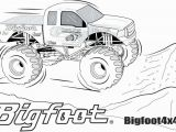 Printable Monster Truck Coloring Pages Monster Truck Coloring Pages for Kids – Alohapumehanafo