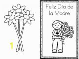 Printable Mothers Day Coloring Pages Happy Mother S Day Feliz D­a De La Madre Card Spanish