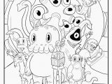 Printable Octonauts Coloring Pages 58 Most Mean Color by Number Print Veggietales Coloring