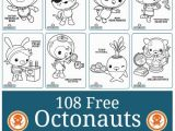 Printable Octonauts Coloring Pages Octonauts to Print and Colour – Pusat Hobi