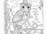 Printable Owl Coloring Pages New Owl to Color