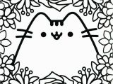 Printable Pusheen Coloring Pages Kawaii Coloring Pages
