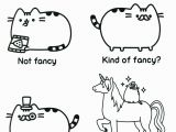 Printable Pusheen Coloring Pages Pusheen Coloring Pages
