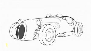 Printable Race Car Coloring Pages Jaguar Old Racing Car Coloring Page