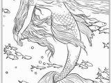 Printable Realistic Mermaid Coloring Pages Best Mermaid Coloring Pages & Coloring Books