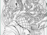 Printable Realistic Mermaid Coloring Pages Mermaid Coloring Pages for Adults