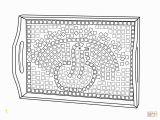Printable Roman Mosaic Coloring Pages Mosaicos Romanos Para Colorear Clip Art Library