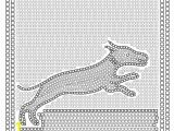 Printable Roman Mosaic Coloring Pages Roman Mosaic with A Hunting Scene Coloring Page