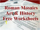 Printable Roman Mosaic Coloring Pages Roman Mosaics 7 11 Years Worksheets 14 to