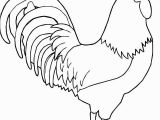 Printable Rooster Coloring Pages 25 Brilliant Of Rooster Coloring Page