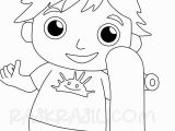 Printable Ryan S World Coloring Pages Ryan Coloring Pages at Home Activities Pocket Watch