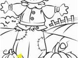 Printable Scarecrow Coloring Pages √ Ausmalbilder Herbst Vogelscheuche