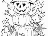 Printable Scarecrow Coloring Pages Free Printable Coloring Pages for Fall Free Printable Fall