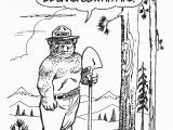 Printable Smokey the Bear Coloring Pages Smokey Bear Coloring Pages – the Landmark Project