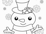 Printable Snowman Coloring Pages Free Printable Christmas Coloring Sheets for Kids and Adults