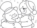 Printable Snowman Coloring Pages Happy In Snow Day Coloring Pages Winter Coloring Pages