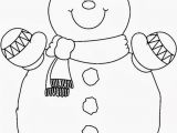 Printable Snowman Coloring Pages Snowman Coloring Pages