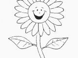 Printable Sunflower Coloring Page Flower Coloring Pages Clip Art Library